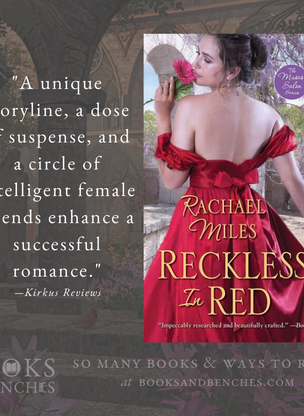 """Witty and Refreshing"" - Reckless in Red by Rachael Miles - Excerpt & Interview"