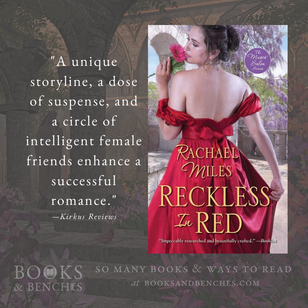 """""""Witty and Refreshing"""" - Reckless in Red by Rachael Miles - Excerpt & Interview"""