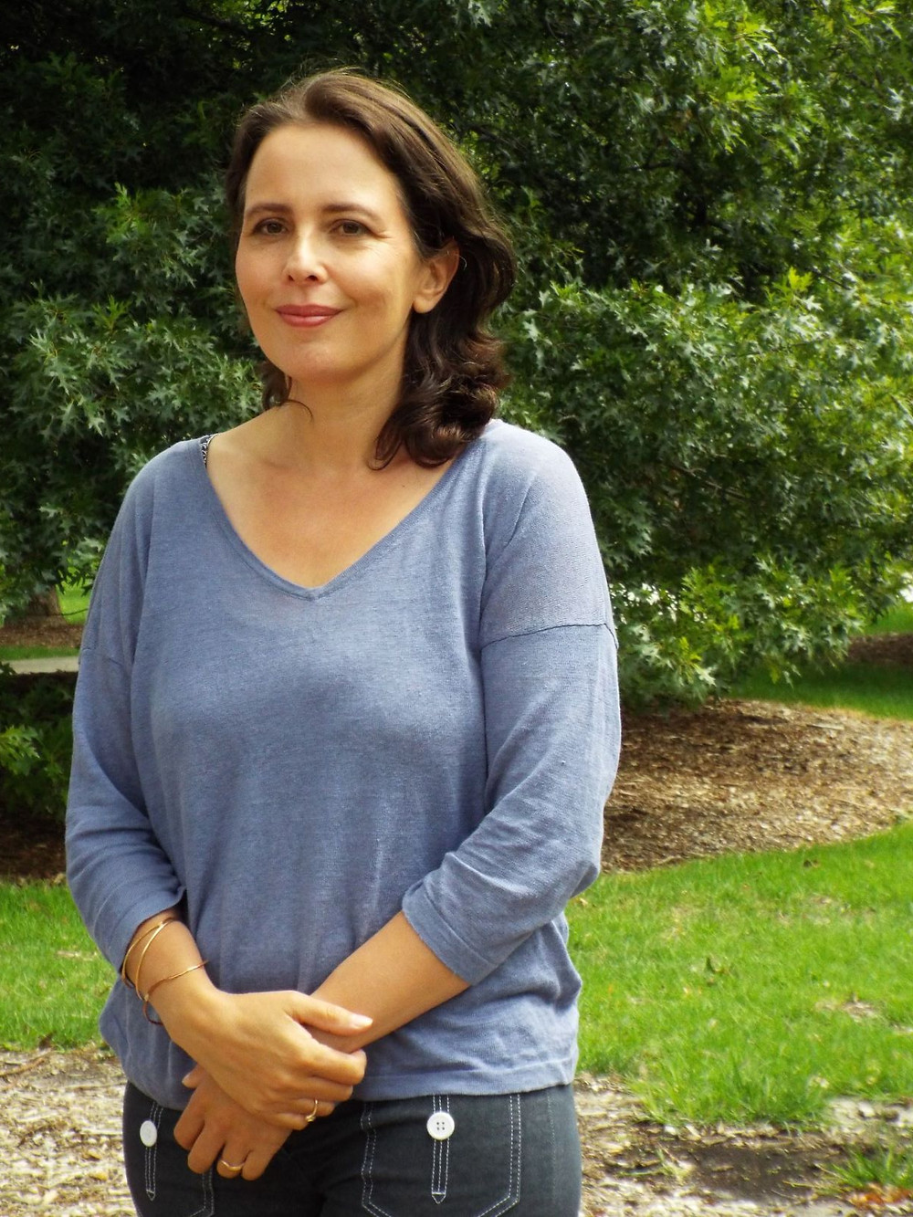 Author Megan Goldin