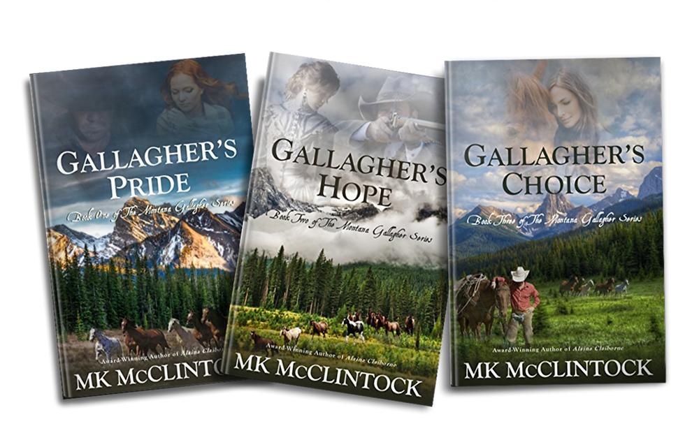 Montana Gallagher book series_historical western romance adventures