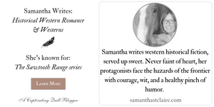 Samantha St. Claire at The Captivating Quill