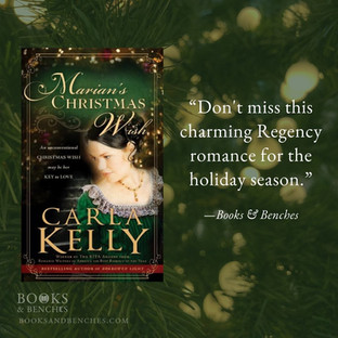 MARIAN'S CHRISTMAS WISH by Carla Kelly - A Reader's Opinion