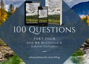 100 Questions, Part Four with MK and Gabriel