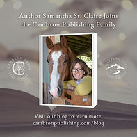 Author Samantha St. Claire Joins Cambron Publishing