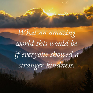 Show a stranger kindness_MK McClintock_u