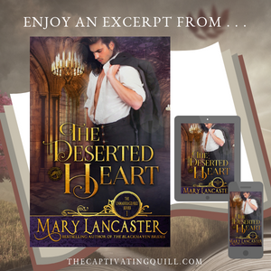 Excerpt from THE DESERTED HEAT by Mary Lancaster