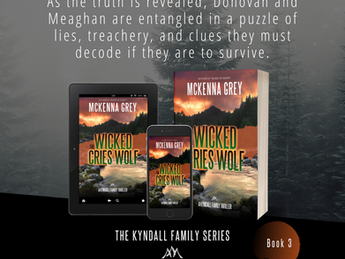 New Romantic Suspense Novel —The Wicked Cries Wolf