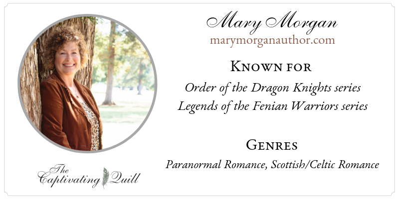 Author Mary Morgan at The Captivating Quill