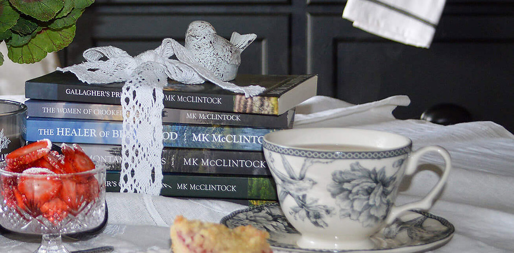 Relieve Stress with Tea and Books - MK McClintock