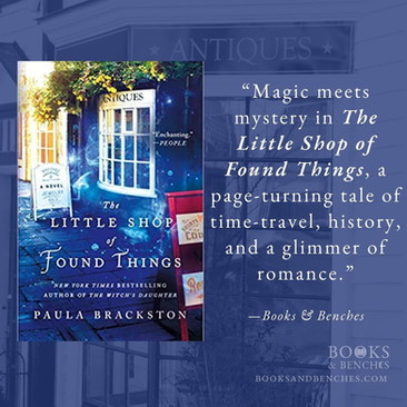 THE LITTLE SHOP OF FOUND THINGS by Paula Brackston - A Reader's Opinion