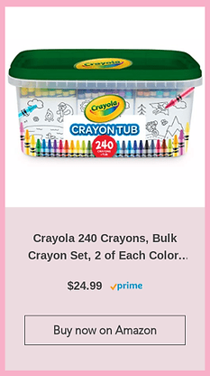 crayola crayons for childrens coloring book