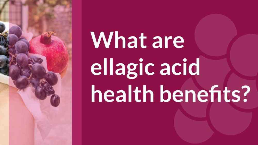Ellagic acid health benefits include reducing cellular inflammation.