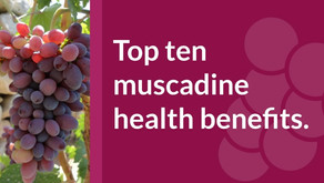 Top 10 Muscadine Health Benefits.