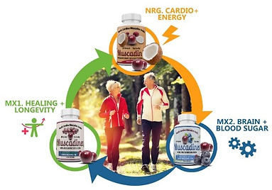Muscadinex and your health goals.