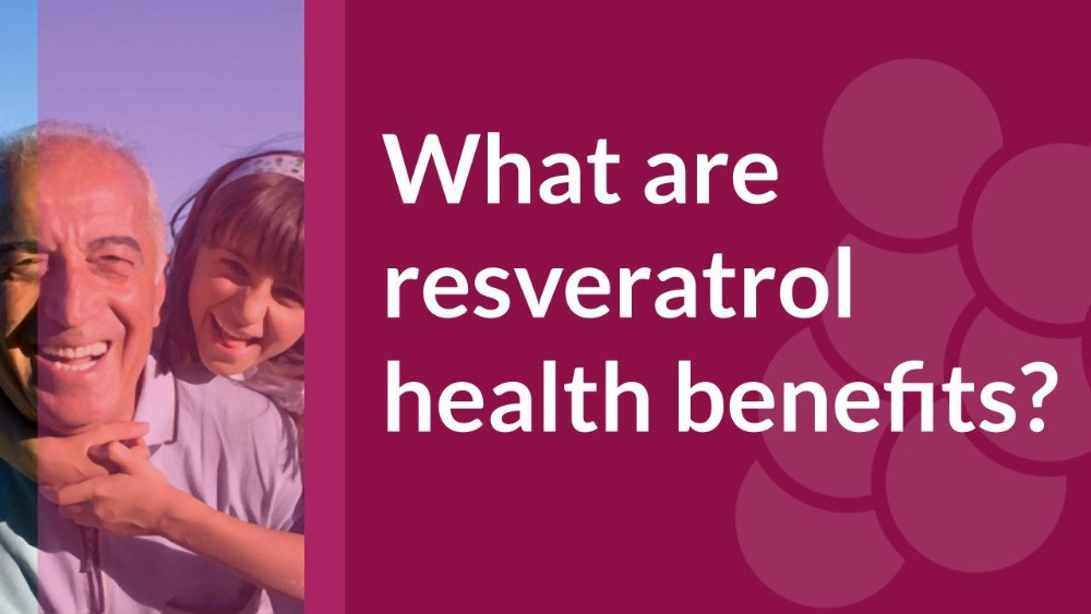 Resveratrol from muscadine grapes can help people to stay healthier for longer.