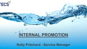 Internal Promotion - Kelly Pritchard