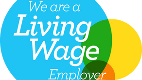 Proud to be Accredited as Living Wage Employer
