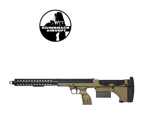 SILVERBACK SRS A1 (22 INCHES) PULL BOLT STANDARD VER. LICENSED BY DESERT TEC-FDE
