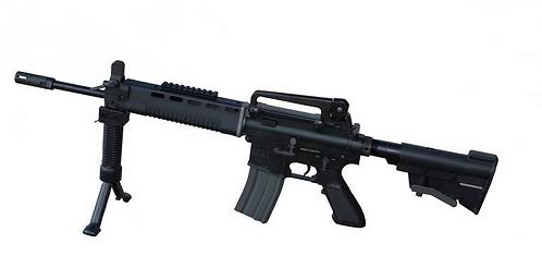 HEAT M4 X744 BK Full Métal AEG Recoil System 1J