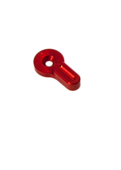 Short CNC custom fire selector for M4 - Rouge