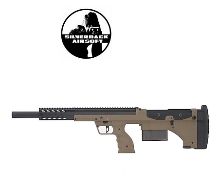 SILVERBACK SRS A1 SPORT (20 INCHES) PULL BOLT LICENSED BY DESERT TECH -FDE