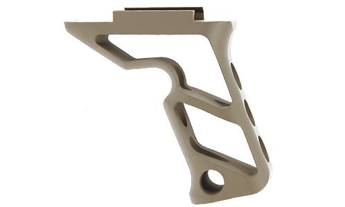 CNC Picatinny System Long Angled Grip