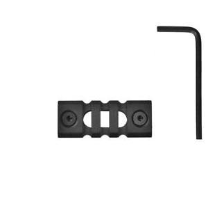 3 SLOTS PICATINNY RAIL SECTION FOR KEY-MOD HANDGUARD MOD.3 -black
