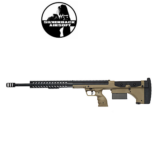 SILVERBACK SRS A1 (26 INCHES) PULL BOLT LONG BARREL VER. LICENSED BY DESERT -FDE