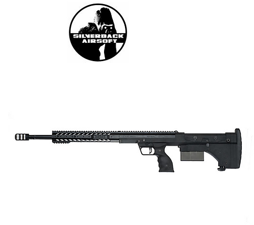 SILVERBACK SRS A1 (26 INCHES) PULL BOLT LONG BARREL VER. LICENSED BY DESERT T-BK