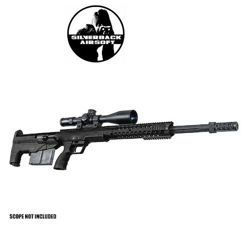 SILVERBACK HTI .50 BMG RIFLE (PULL BOLT) BK