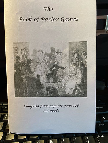 Book of Parlor Games
