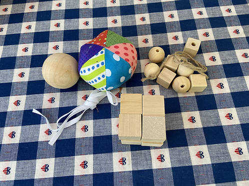 Froebel's Kindergarten Gifts 1,2  & 3