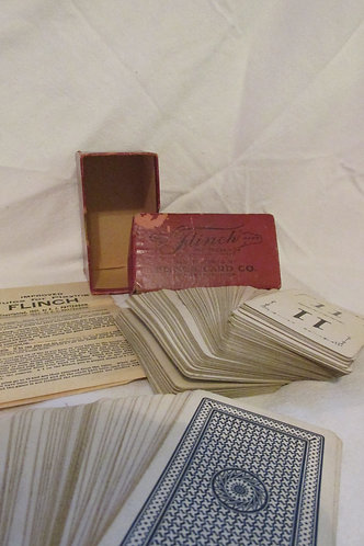 Flinch vintage card game