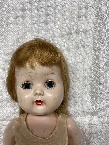 1930's composite walking doll 15""