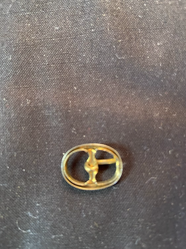 "Vintage small buckle for 15""-24"" doll"