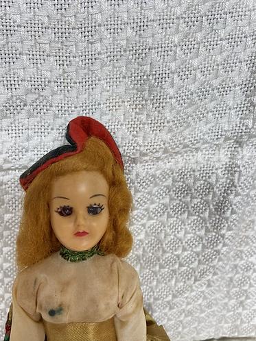 1930 Storybook doll, Scottish Lass