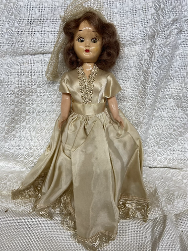 1930's storybook Bride Doll