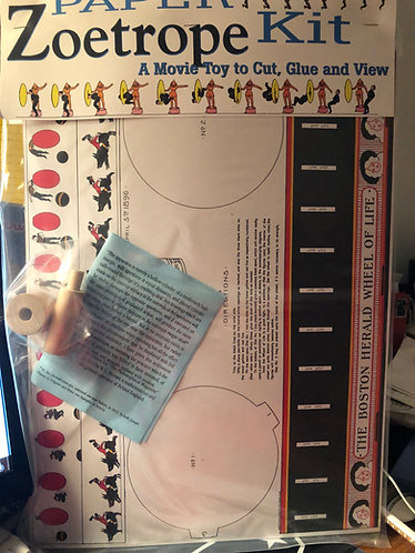 Paper Zoetrope kit