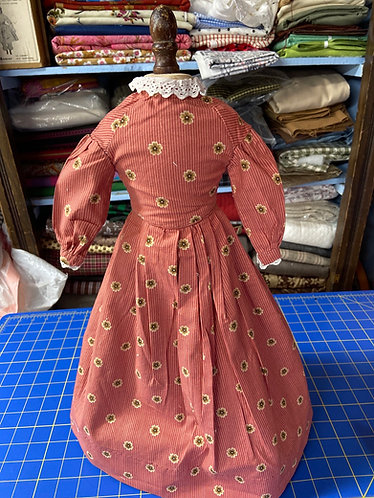 "18"" Hand sewn Dolls dress"
