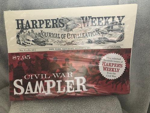 Harper's Weekly sampler (5 issues)