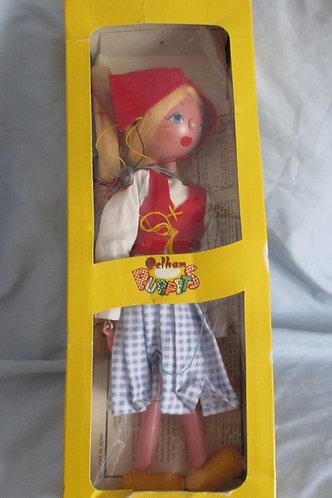 Pelham Little Dutch Girl Puppet Marionette