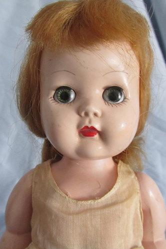 1950's hard plastic 'walking doll' Raving Beauty