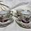 Thumbnail: Antique child's Tea Set (1950) luster ware
