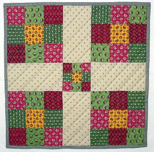 Civil War inspired Doll quilt (kit)