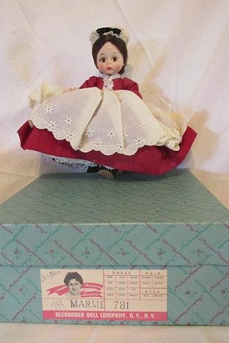 """Vintage Madame Alexander 8"""" 'Marmie' Little Women series"""