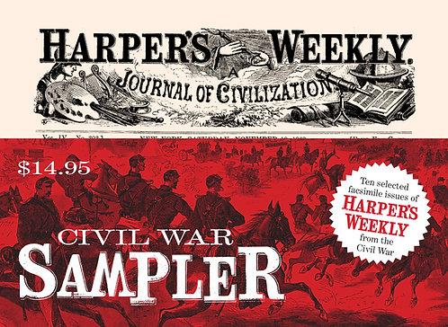 Harper's Weekly Journal of Civilization Sampler 10 pack