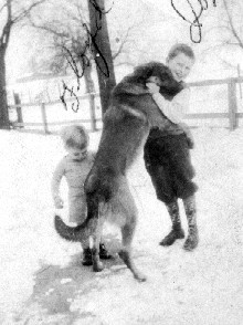 Boys and their dog 1935
