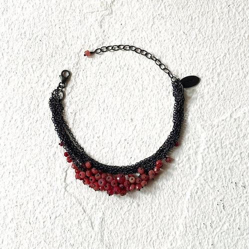 Multi Chain Cluster bracelet