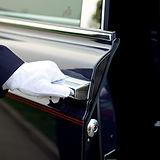 serviço de motorista de luxo