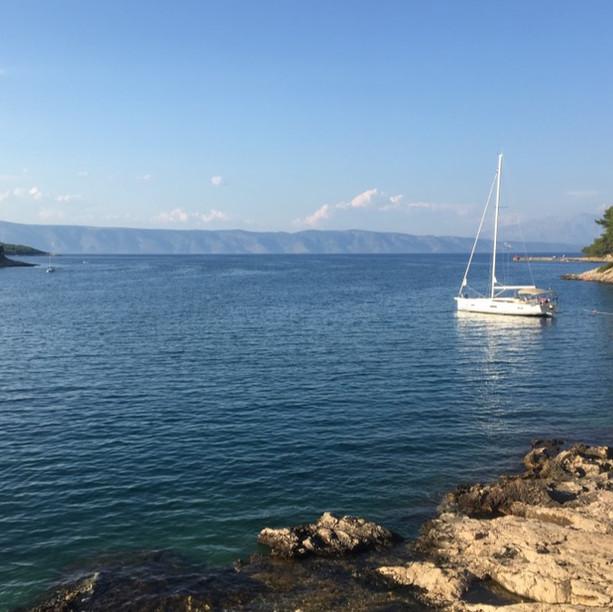 Mouillage Croatie